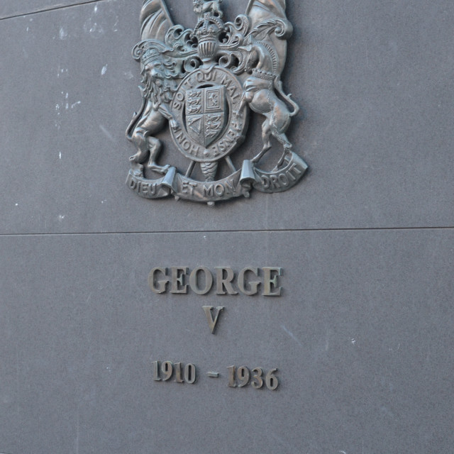 """George V"" stock image"