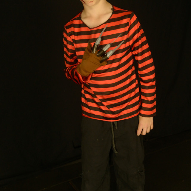 """Boy in Costume"" stock image"