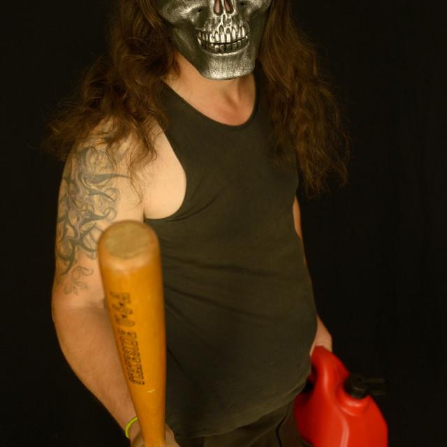 """Man in Halloween Costume"" stock image"