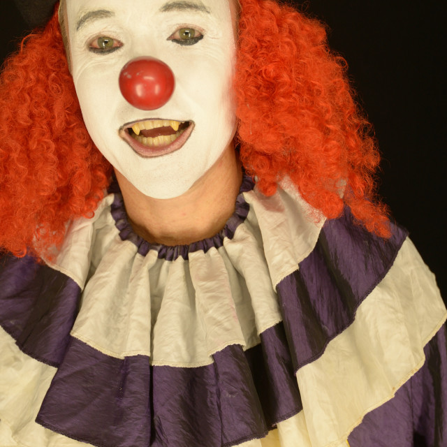 """""""Close up of Clown"""" stock image"""