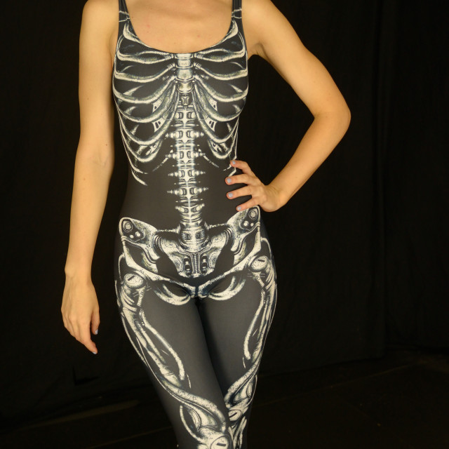 """""""Skeleton Outfit"""" stock image"""