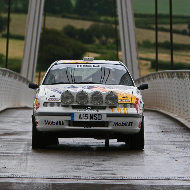 """""""Opel Rallying"""" stock image"""