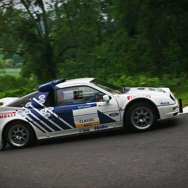 """Ford RS200"" stock image"