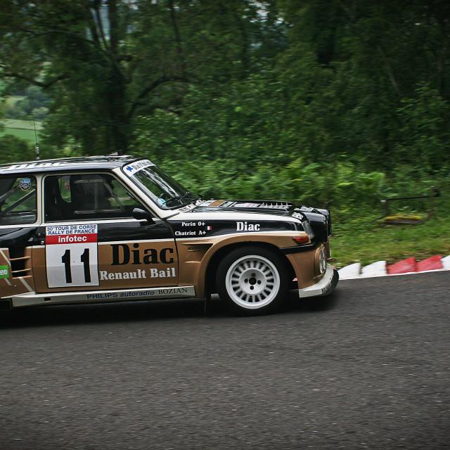 """Renault 5 Turbo"" stock image"