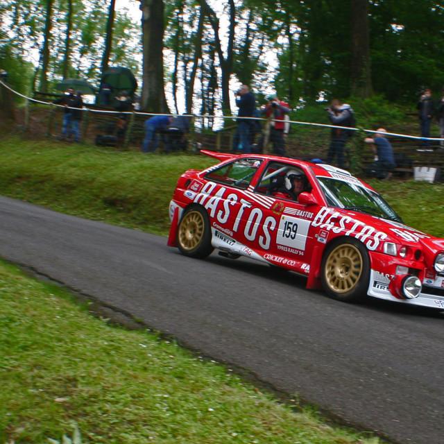 """Bastos Escort Cosworth"" stock image"