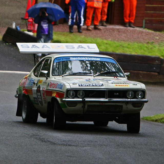 """Chevrolet powered V8 rallying"" stock image"
