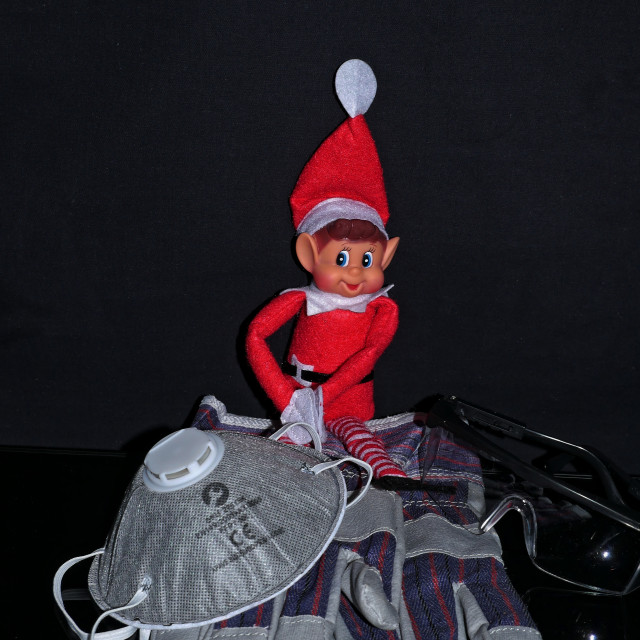 """""""Elf and safety"""" stock image"""