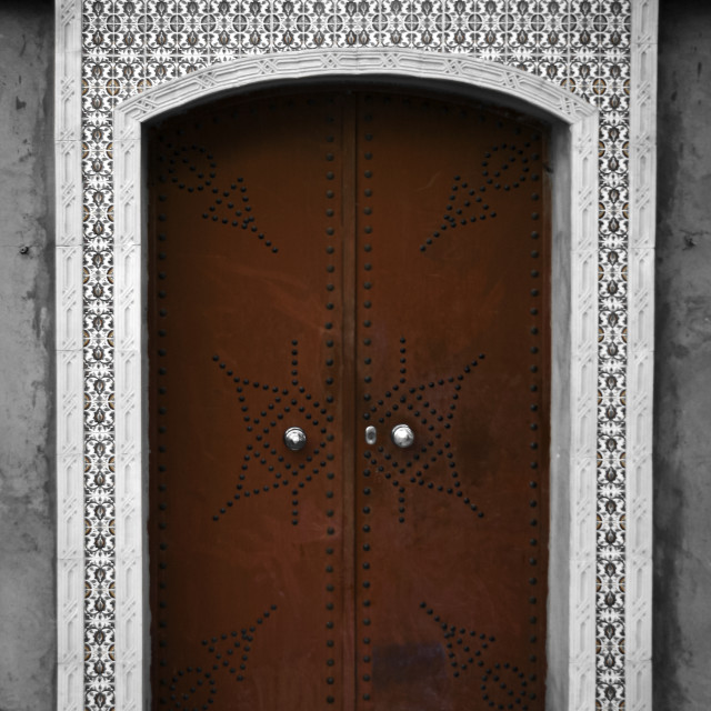 """Sousse Doorway 2"" stock image"