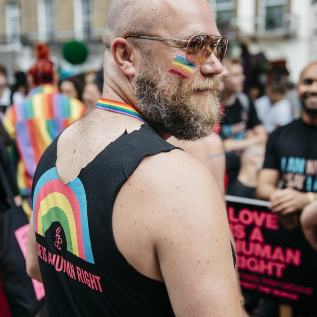 """London Pride '19 [2]"" stock image"