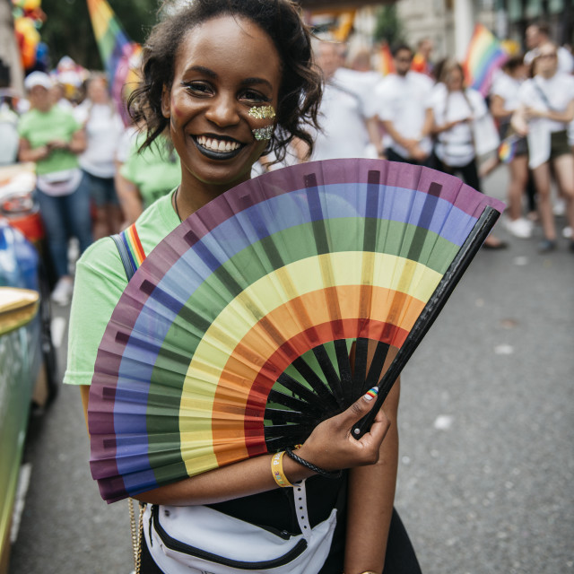 """London Pride '19 [5]"" stock image"