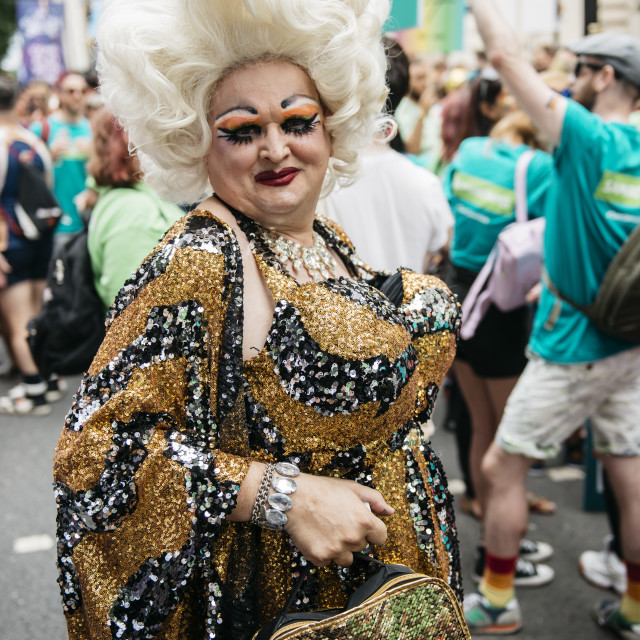 """London Pride '19 [1]"" stock image"