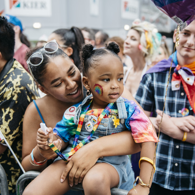 """London Pride '19 [10]"" stock image"