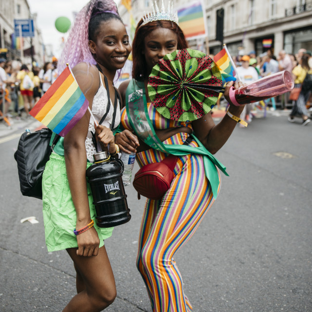 """London Pride '19 [13]"" stock image"