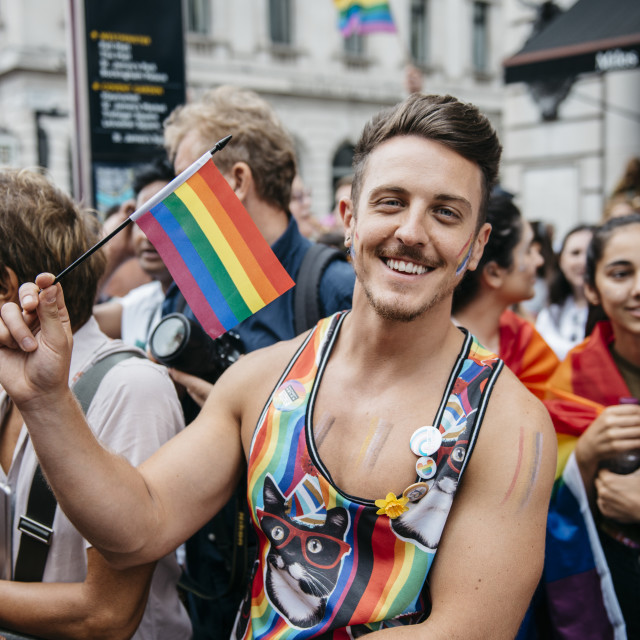 """London Pride '19 [14]"" stock image"