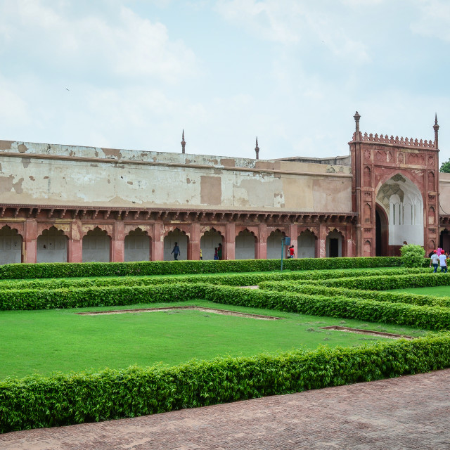 """Agra Fort in Agra, India"" stock image"