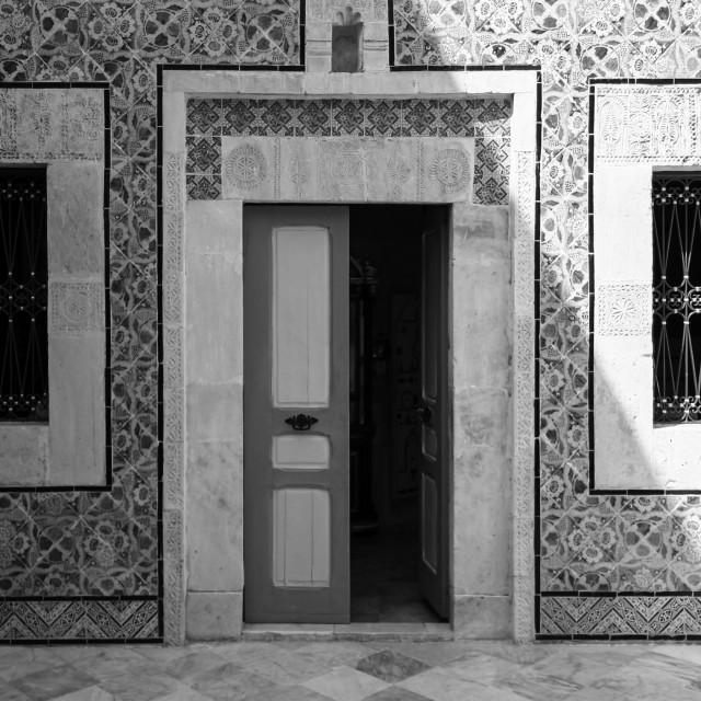 """Sousse Doorway 4"" stock image"