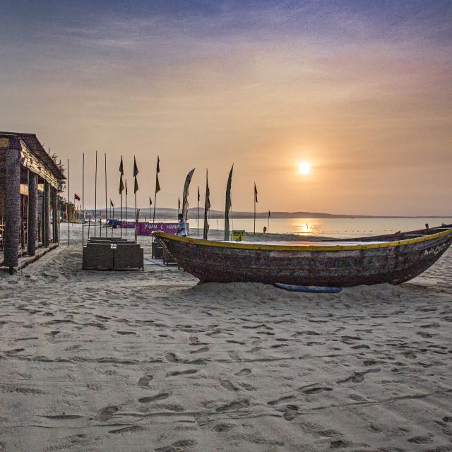 """""""Dawn at Mui Ne, Vietnam"""" stock image"""
