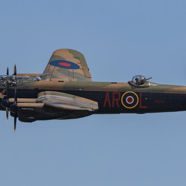 """""""Lancaster Bomber 2"""" stock image"""