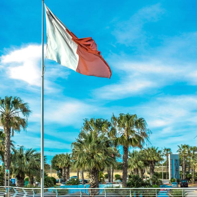 """Malta flag"" stock image"