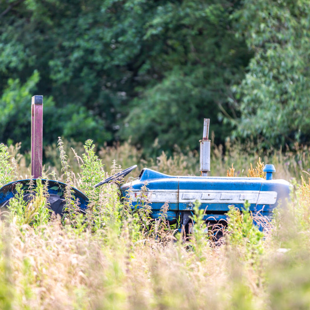 """""""Grass Tractor"""" stock image"""