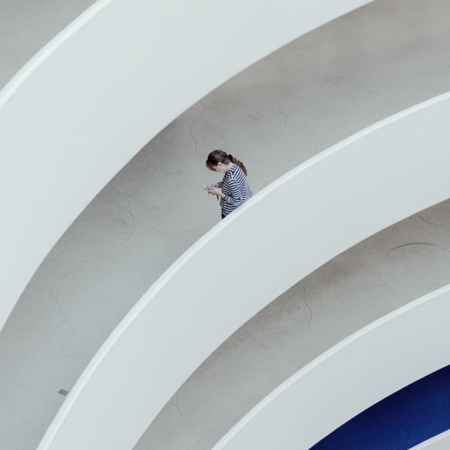 """""""Guggenheim NYC"""" stock image"""