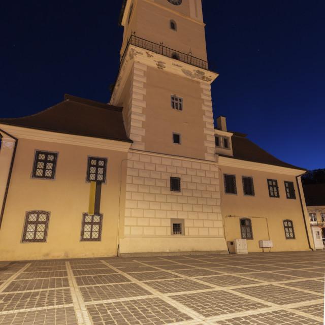 """Council Square in Brasov"" stock image"