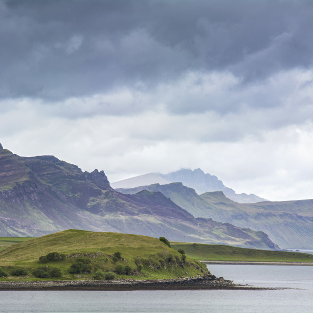 """Layers of Skye"" stock image"