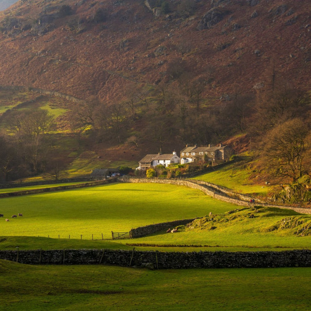 """Tilberthwaite, Coniston"" stock image"