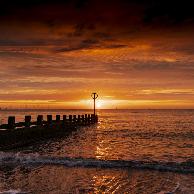 """Aberdeen Beach"" stock image"