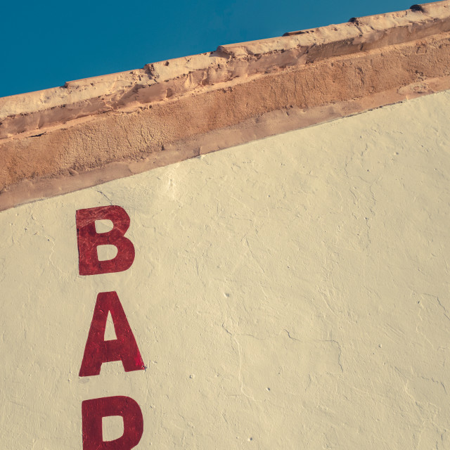 """American Southwest Bar"" stock image"