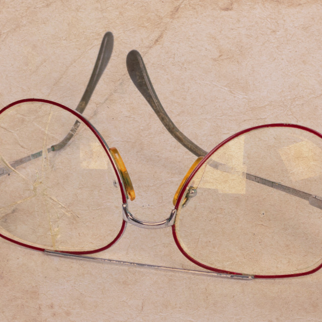 """Vintage glasses"" stock image"
