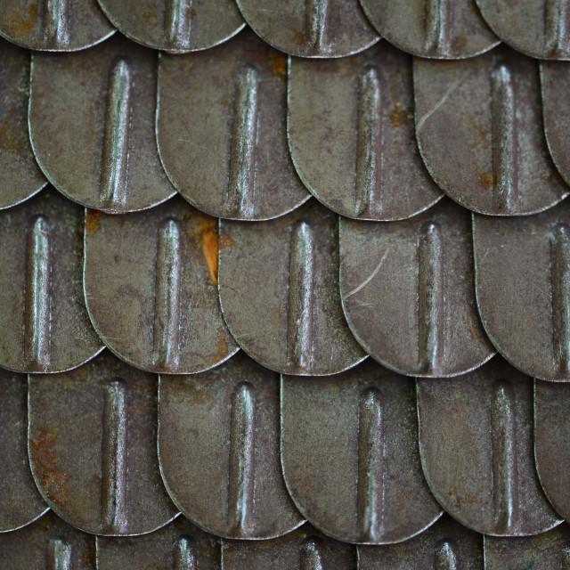 """Ancient metal armor"" stock image"
