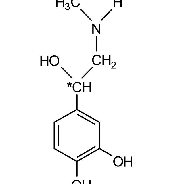 """adrenaline chemical formula"" stock image"