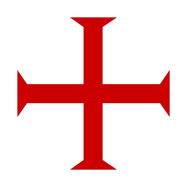 """templar knights cross"" stock image"