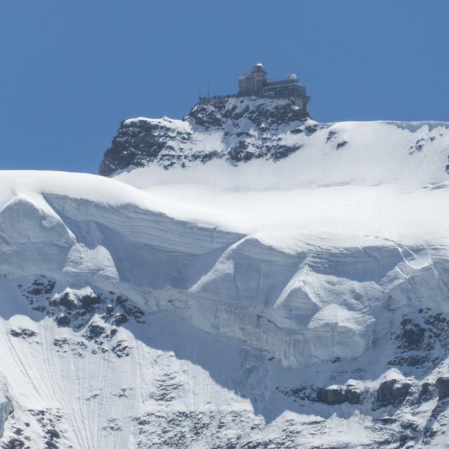 """""""Jungfraujoch"""" stock image"""