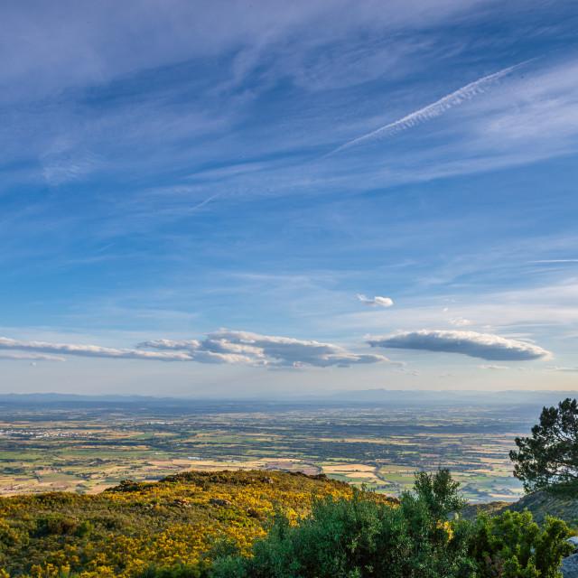 """Panoramic view Costa Brava,Spain,Catalonia"" stock image"