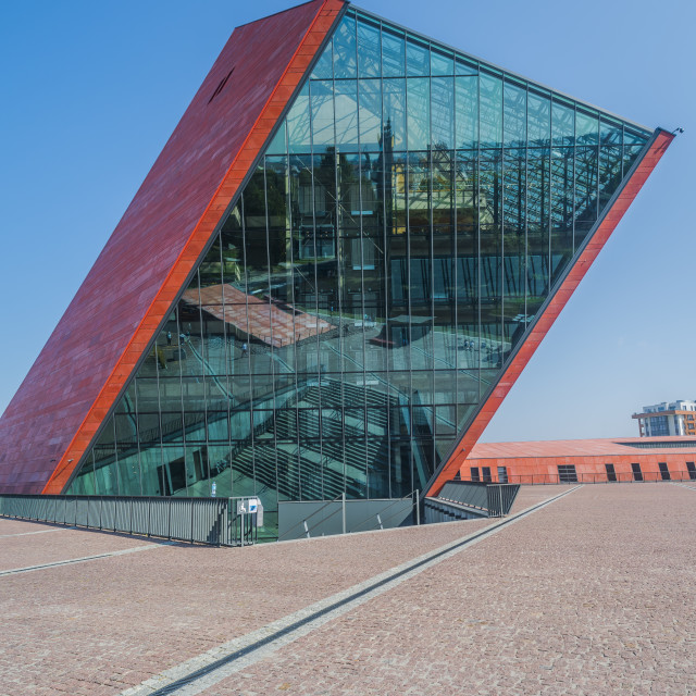 """World War Two Museum, Gdansk, Poland"" stock image"