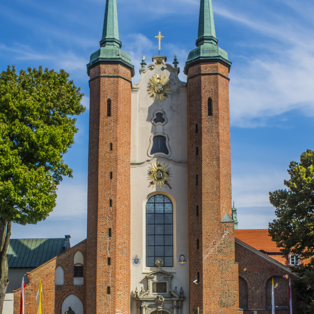 """Cathedral, Gdansk, Poland"" stock image"