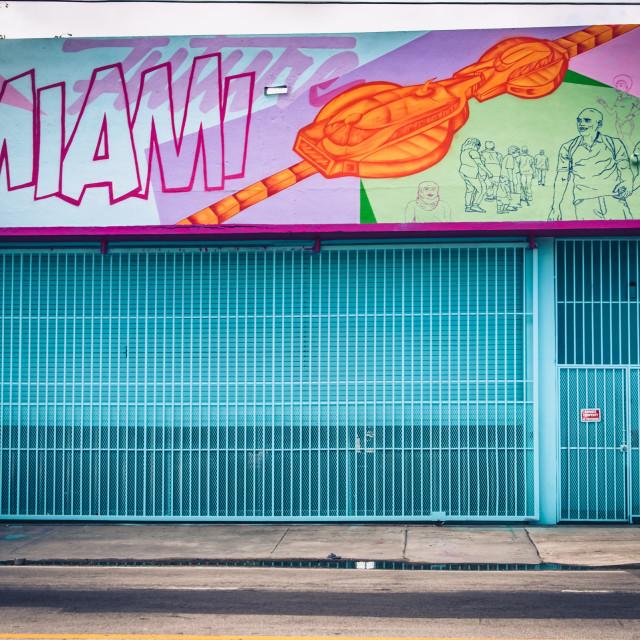 """Miami"" stock image"
