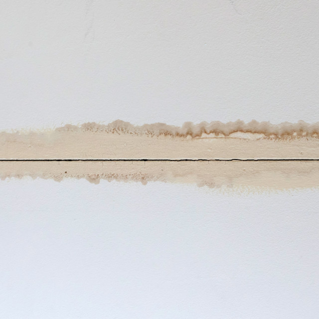 """Ceiling after leaking"" stock image"
