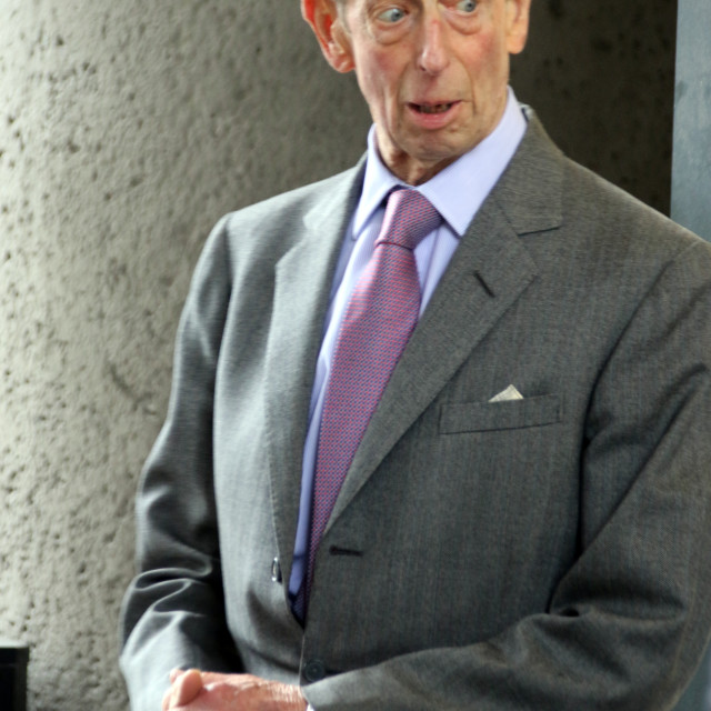 """HRH the Duke of Kent"" stock image"