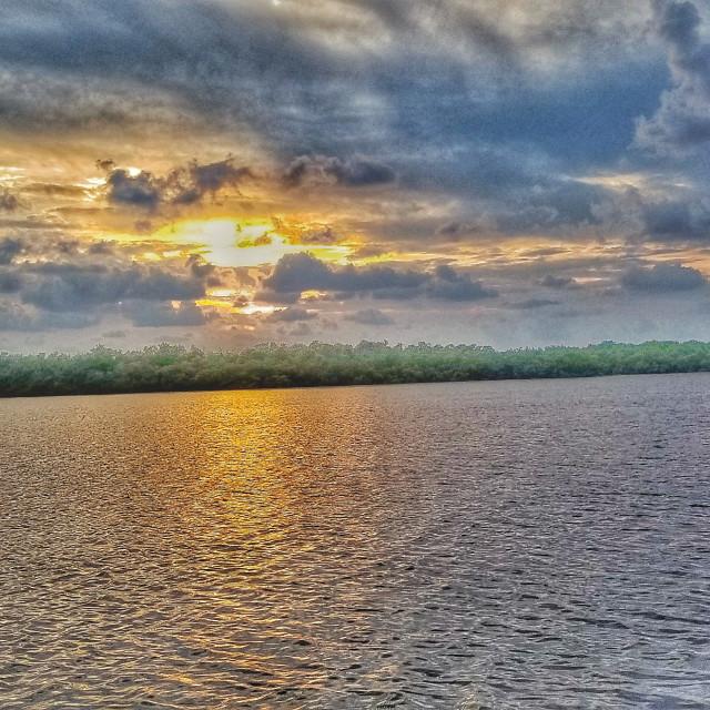 """Beautiful Naples Florida Sunset"" stock image"