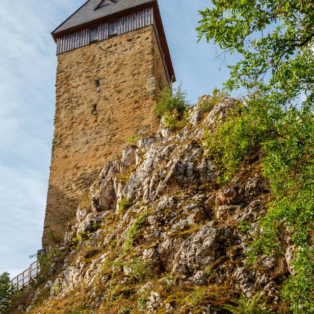 """""""Burg Frauenstein"""" stock image"""