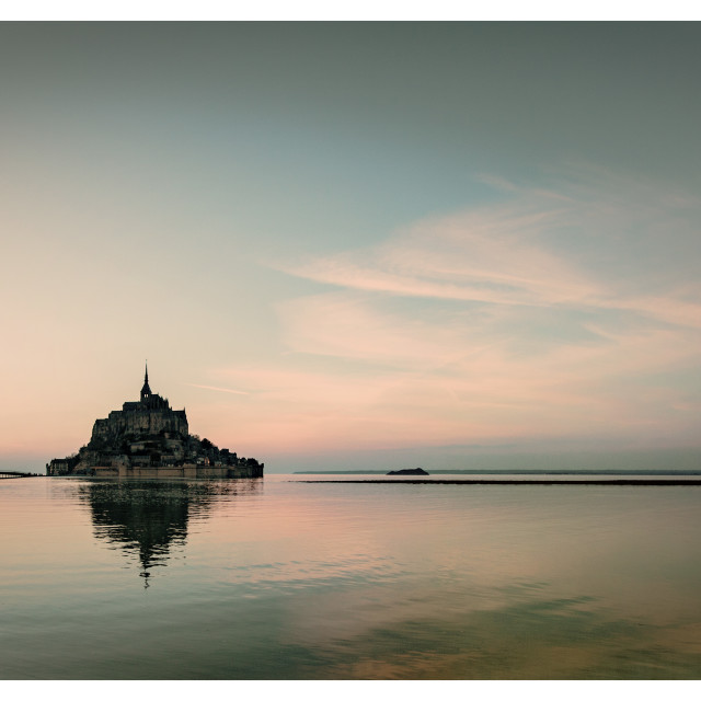 """""""Le Mont Saint michel"""" stock image"""