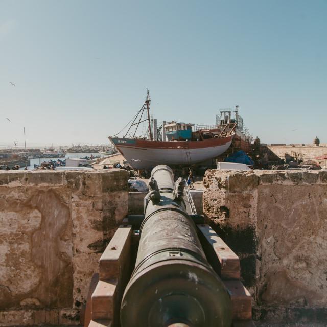 """Essaouira port city"" stock image"