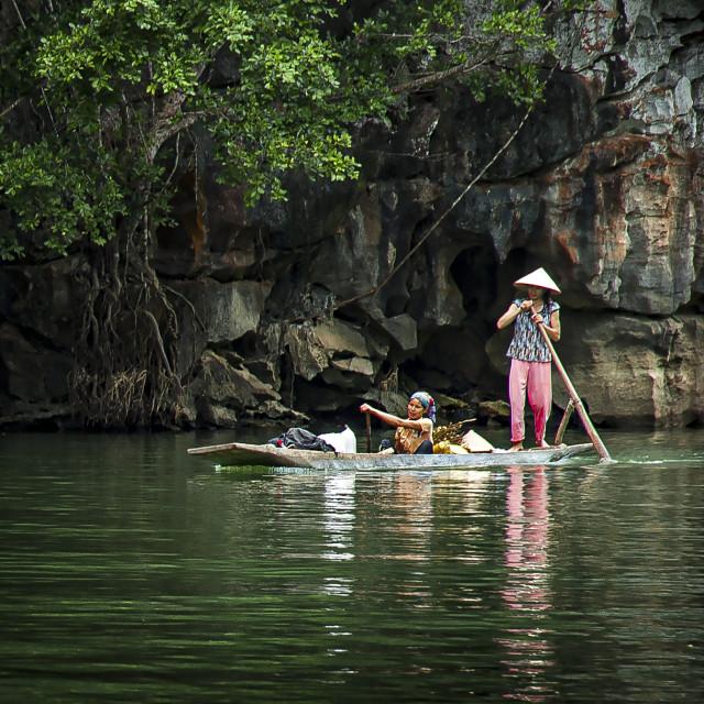 """""""Ba Be, Vietnam Locals"""" stock image"""