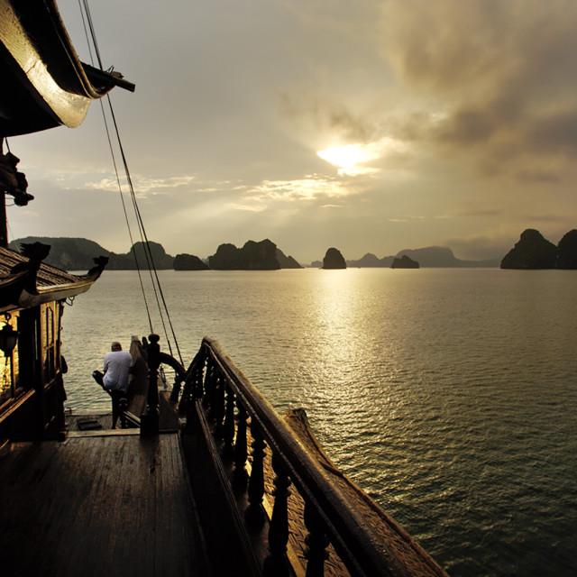 """Halong Bay, Vietnam #1"" stock image"