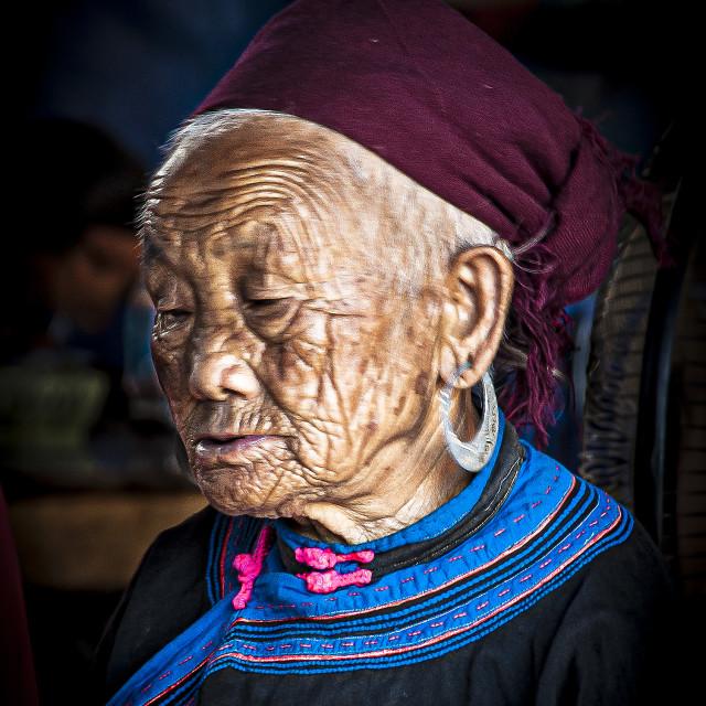"""Vietnam Portrait #1"" stock image"