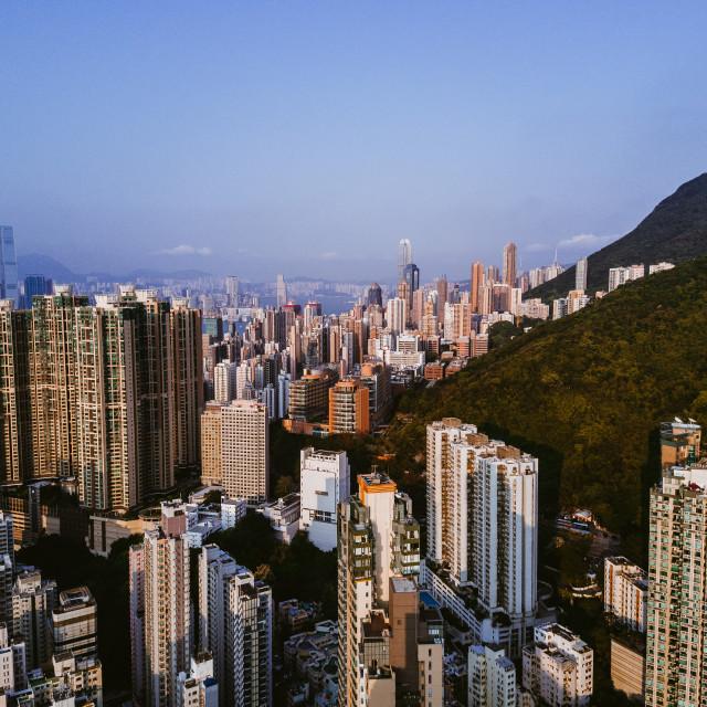 """""""Hong Kong Cityscape"""" stock image"""