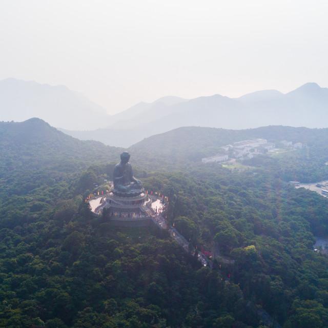 """Hong Kong Buddha"" stock image"
